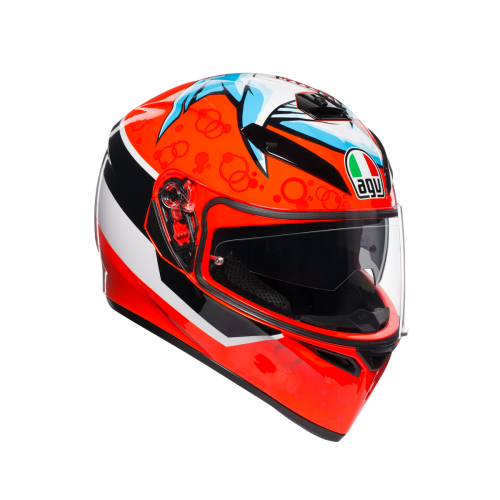 CASCO AGV_K3_SV_E2205 MULTI - ATTACK