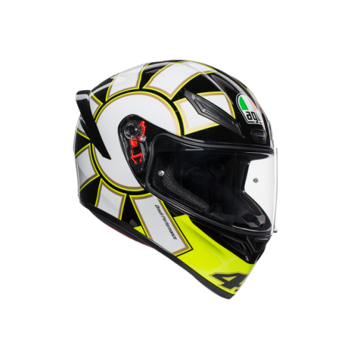 CASCO AGV K1_TOP_ECE2205 - GOTHIC 46 BLACK